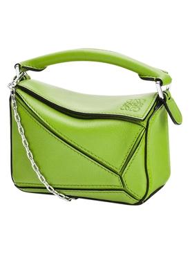 Nano Puzzle bag APPLE GREEN