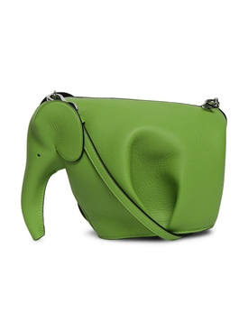 elephant crossbody bag, APPLE GREEN
