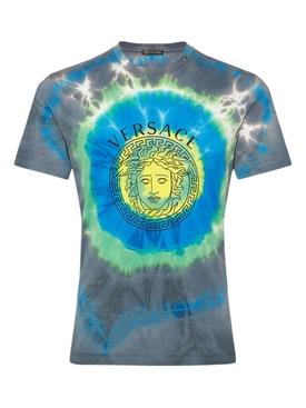 Tie Dye Medusa Logo Shirt