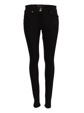 Black Fitted Denim Skinny Jeans