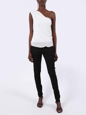 Black Fitted Denim Skinny Jeans