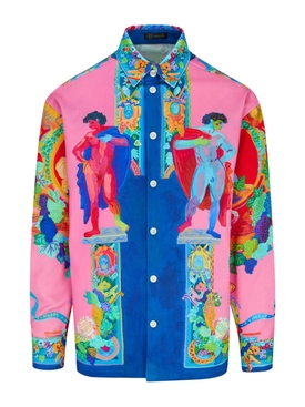 Technicolor painting denim jacket