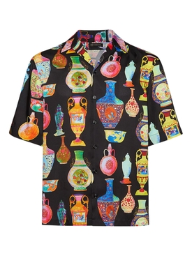 Versace - Seven Vessels Button-down Shirt - Men