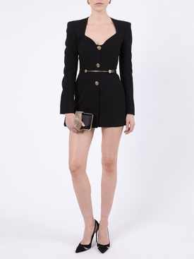 Tailored Blazer Mini Dress