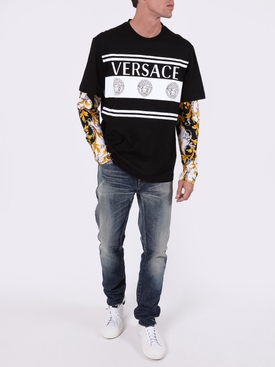 Barocco print long sleeve t-shirt