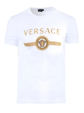 MEDUSA LOGO T-SHIRT OPTICAL WHITE