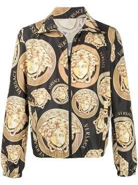 Medusa Amplified-print lightweight jacket