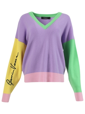 Multicolored Knit Sweater
