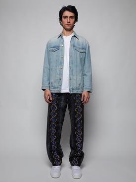 Snake Print Jeans