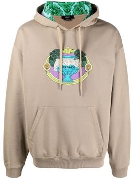 La Coupe Des Dieux embroidered motif hoodie CARGO