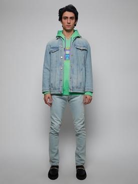 La Coupe Des Dieux embroidered motif hoodie MINT