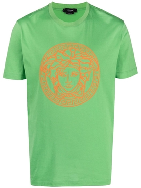 JUNGLE GREEN MEDUSA LOGO T-SHIRT