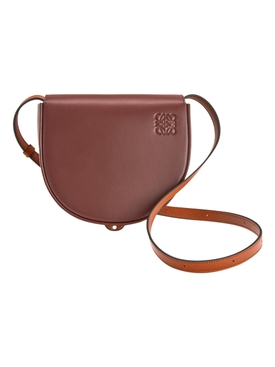 HEEL DUO BAG, BURGUNDY DARK TAN