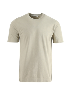 TAN SERIGRAPHIC PRINT T-SHIRT