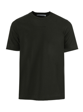 Black sphere tonal logo t-shirt