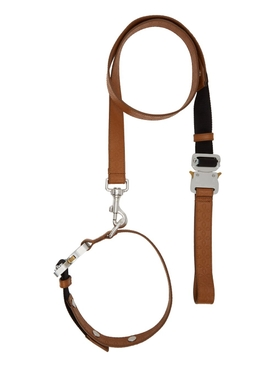 Leather Leash Collar Set CAMEL