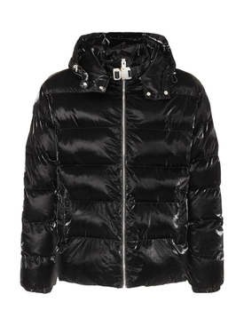 Nightrider puffer jacket BLACK