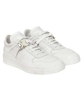 Low-top Buckle Trainer WHITE