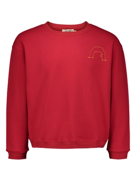 Red Naked Adult Sweater