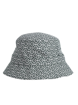 Patch Bucket Hat GREEN/WHITE