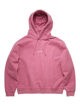 classic hooded sweatshirt, violet pink