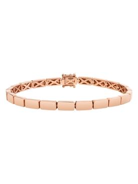 18k rose gold bunny bracelet