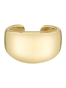 18k solid yellow gold galaxy ear cuf