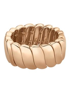 18k rose gold large Zoe ring