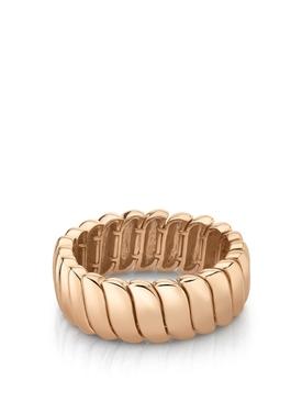 18K rose gold zoe ring
