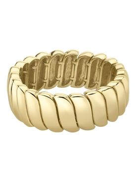 18k yellow gold Zoe ring