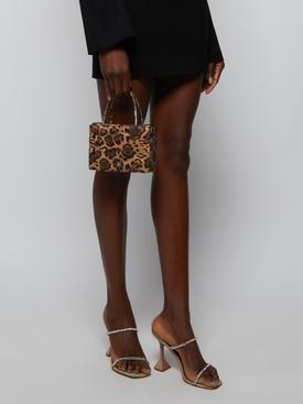 Amina Gilda Crystal Bag LEOPARD/WHITE