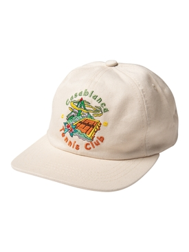 Club Printed Cap WHITE TENNIS CLUB