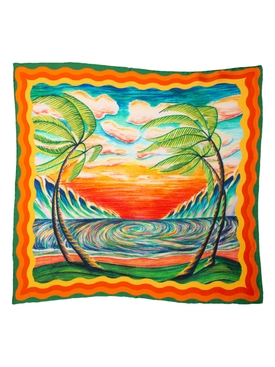 Small Silk Scarf Haukai