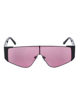 Linda Farrow - X The Attico Carljn Pink Shield Sunglasses - Women