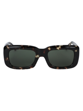 Linda Farrow - X The Attico Marfa Rectangular Tortoiseshell Sunglasses - Women