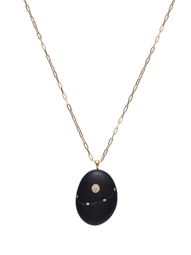 Affection 18k Gold and Stone Necklace