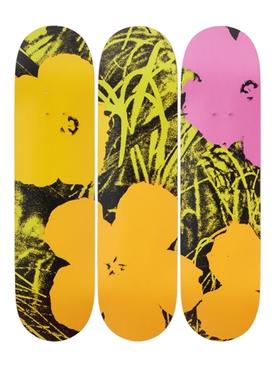 Andy Warhol Flowers Skateboard
