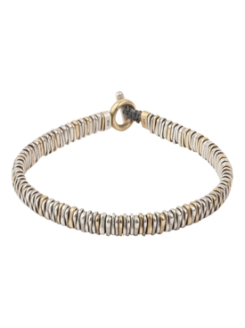 18K gold and silver Zig bracelet
