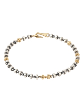 18K matte gold and silver Small Omni bracelet