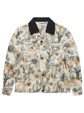 Workwear jacket, desert beige
