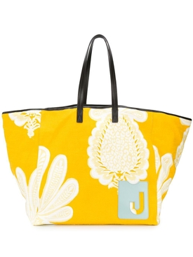 La Doublej - Big Mama Multicolored Floral Print Tote Bag - Women