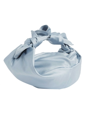 Light Blue Satin Baby Wrap Bag