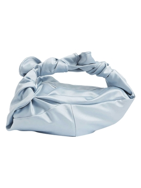 Light Blue Satin Baby Wrap Bag