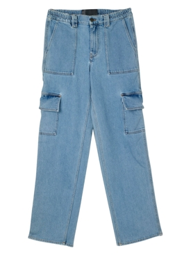 Oversized Baggy Cargo Denim Pants