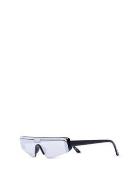 Ski Sunglasses Silver and Black