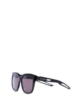 Classic oversized square sunglasses black