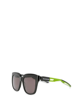 Contrast Leg Sunglasses green and black