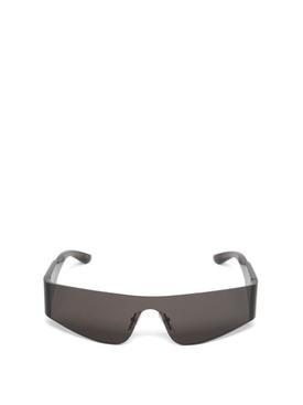 Rectangular sunglasses grey