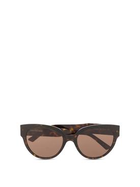 Classic cat eye sunglasses brown