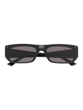 BB black rectangular sunglasses
